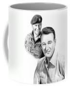 John Wayne Coffee Mug by Peter Piatt