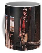 John Wayne Porch Of His Sheriff's Office Rio Bravo  Old Tucson Arizona 1959-2013 Coffee Mug