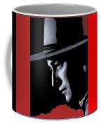 John Wayne Ringo Kid Portrait Stagecoach 1939-2013 Coffee Mug