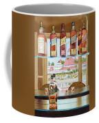 Johnnie Walker And Del Coffee Mug by Mary Helmreich