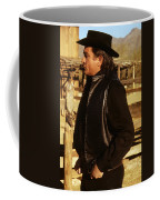Johnny Cash Golden Gate Peak Old Tucson Arizona 1971 Coffee Mug