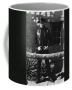 Johnny Cash Gunslinger Hitching Post Old Tucson Arizona 1971  Coffee Mug