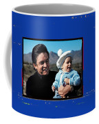 Johnny Cash John Carter Cash Old Tucson Arizona 1971 Coffee Mug