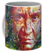 Johnny Cash Coffee Mug by Joshua Morton
