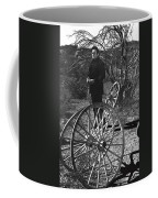 Johnny Cash  Meditating Wagon Wheel Graveyard Old Tucson Arizona 1971 Coffee Mug