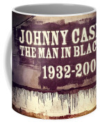 Johnny Cash Memorial Coffee Mug