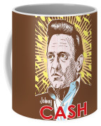 Johnny Cash Pop Art Coffee Mug