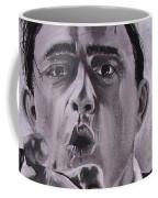 Johnny Cash Portrait Coffee Mug