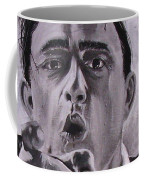 Johnny Cash Portrait Coffee Mug