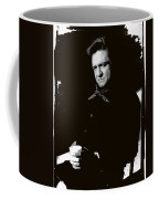 Johnny Cash Sitting With Cup  Old Tucson Arizona 1971-2009 Coffee Mug
