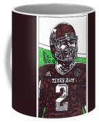 Johnny Manziel 6 Coffee Mug by Jeremiah Colley
