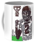 Johnny Manziel 9 Coffee Mug by Jeremiah Colley