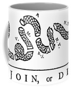 Join Or Die Coffee Mug by Anonymous