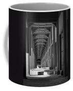Jongmyo Light And Shadow Bw Coffee Mug