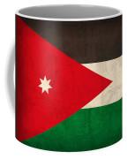 Jordan Flag Vintage Distressed Finish Coffee Mug