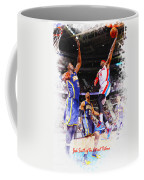 Josh Smith Of The Detroit Pistons Coffee Mug