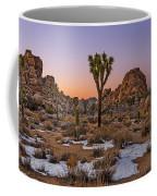 Joshua Tree Dusk Panorama Coffee Mug