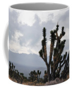 Joshua Tree Forest Ivanpah Valley Coffee Mug