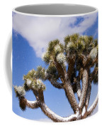Joshua Tree In Snow Coffee Mug