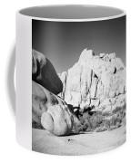 Joshua Tree Rock Formation Coffee Mug
