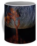 Joshua Tree Star Trails Coffee Mug
