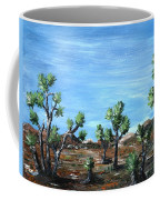 Joshua Trees Coffee Mug by Anastasiya Malakhova