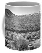 Josua Tree - Geology Tour Road Coffee Mug