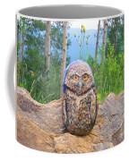 Journey Of Burrowing Owl Coffee Mug