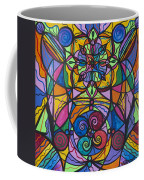 Jovial Optimism Coffee Mug by Teal Eye  Print Store