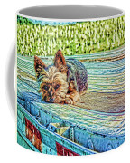 'jovie' Truckin Dogs Need Breaks Too Coffee Mug