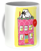 Joy House Card Coffee Mug by Linda Woods