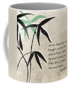 Joy Coffee Mug by Linda Woods