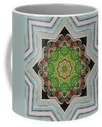 Jubilant Mandevilla Kaleidoscope Pattern Coffee Mug