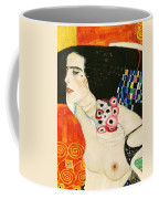 Judith II Coffee Mug by Gustav Klimt
