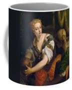 Judith With The Head Of Holofernes Coffee Mug