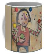 Juggler With Balls  Coffee Mug