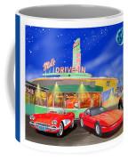 Julies Corvettes Coffee Mug by Jack Pumphrey