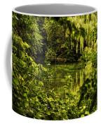 July Tranquil Indian Lake Coffee Mug