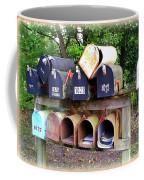 Jumbled Mailboxes Coffee Mug