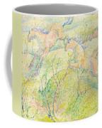Jumping Horses Coffee Mug