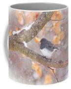 Junco In Snow Coffee Mug