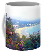 June Gloom Morning At Laguna Beach Coast Coffee Mug