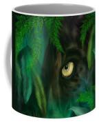 Jungle Eyes - Panther Coffee Mug