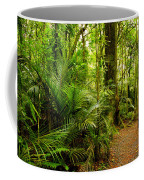 Jungle Scene Coffee Mug by Les Cunliffe