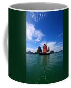 Junk Boat Coffee Mug