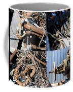 Junk Collage  Coffee Mug