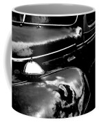 Junkyard Series Old Plymouth Black And White Coffee Mug