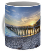 Juno Beach Pier At Dawn Coffee Mug