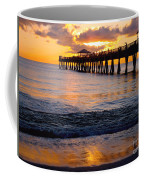 Juno Beach Pier Coffee Mug