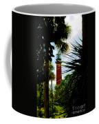 Jupiter Lighthouse Florida Coffee Mug by Susanne Van Hulst
